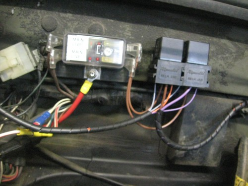 Wiring Harness Completely Burned Up