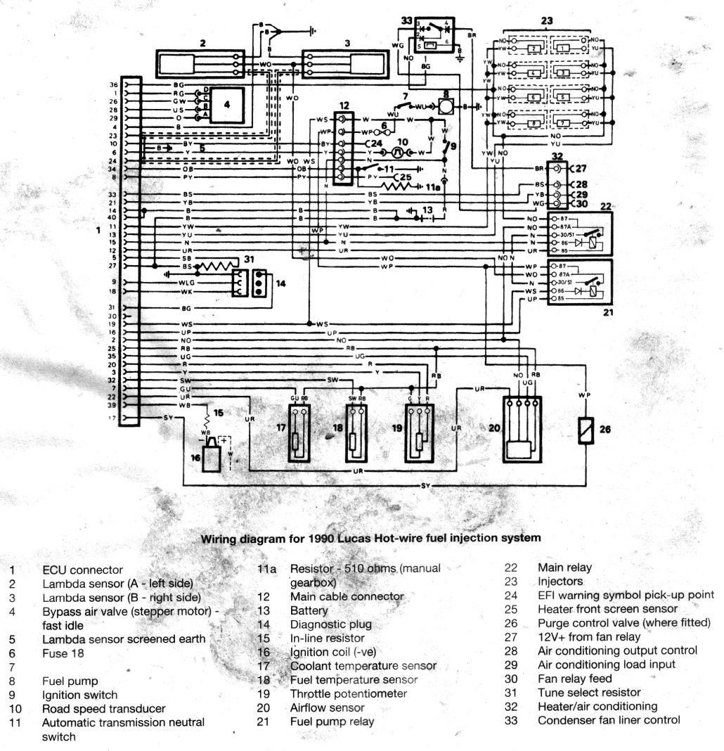 Wiring Diagram 3 9 Fuel Injection   Ecu - Range Rover Forum - Lr4x4
